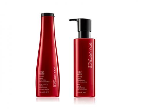 Shu Uemura kit Color lustre shampoo e conditioner capelli colorati