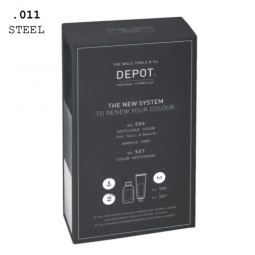 Depot n° 506 e n° 507 invisible color .011 steel