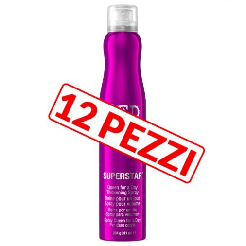 Spray ispessente pre-piega Tigi Bed head capelli sottili kit 12 pezzi 311 ml