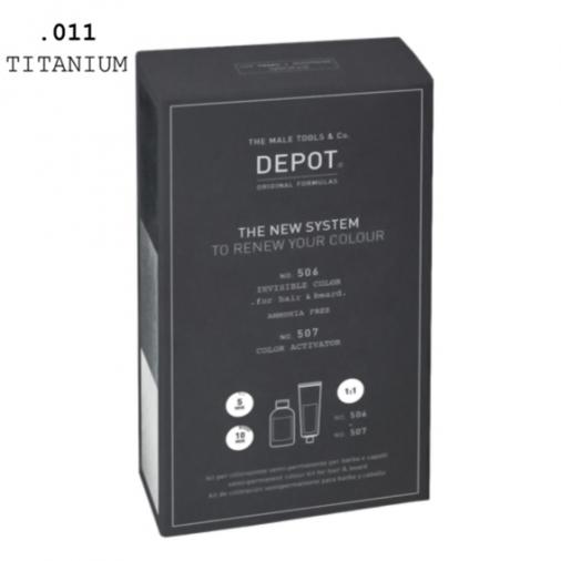 Depot n° 506 e n° 507 invisible color .011 titanium
