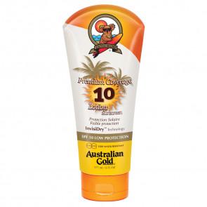 Protezione solare SPF10 pelli già abbronzate scure Australian Gold 177 ml