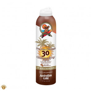 Spray solare SPF30 pelli chiare con bronzer Australian Gold 177 ml
