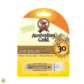 Stick labbra solare protettivo idratante SPF30 Australian Gold 4,2 gr
