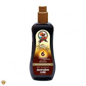 Protezione solare spray SPF6 con bronzer Australian Gold 177 ml
