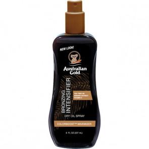 Intensificatore dell'abbronzatura olio secco spray Australian Gold 237 ml