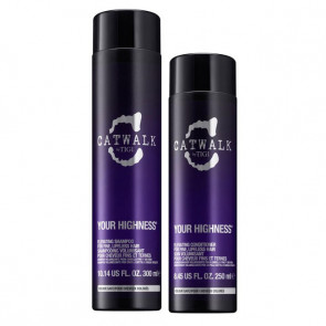 Tigi Catwalk kit Your highness shampoo + balsamo