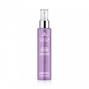 Olio spray secco anti-frizz per capelli crespi Alterna Caviar 147 ml