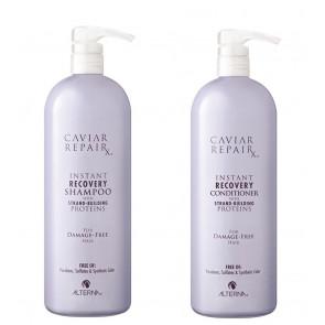 Maxi kit Alterna con shampoo e balsamo per capelli danneggiati