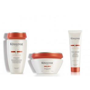Kit nutrimento Kérastase capelli normali fini shampoo maschera crem