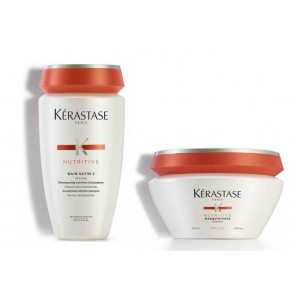 Kérastase nutritive irisome kit bain satin 2 + masquintense per capelli grossi