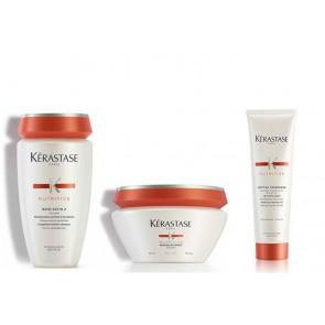 Kit nutrimento Kérastase capelli secchi grossi shampoo maschera crema