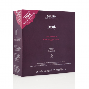 Aveda Invati trio ricariche Scalp Revitalizer 3x150 ml