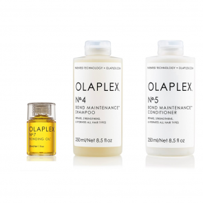 Olaplex kit shampoo n 4, conditioner n 5 e olio n 7