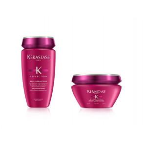 Kit per capelli colorati fini Kérastase shampoo e maschera