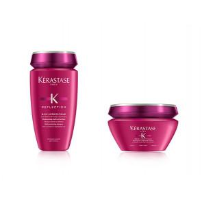 Kit per capelli colorati grossi Kérastase shampoo maschera