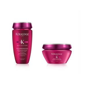 Kit per capelli decolorati fini Kérastase shampoo + maschera