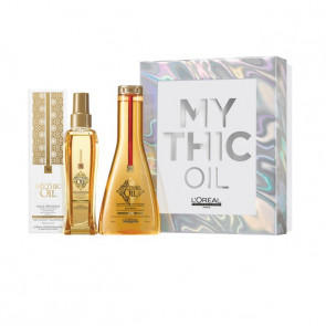 L'oreal pro Mythic Oil xmax box shampoo + olio 350 ml