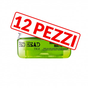 Kit 12 pezzi cera opaca per capelli Manipulator Matte Bed Head Tigi 57 gr