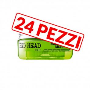 Kit 24 pezzi cera opaca per capelli Manipulator Matte Bed Head Tigi 57 gr
