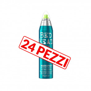 Kit 24 pezzi lacca luminosa a tenuta media anti-crespo Tigi Bed head 300 ml