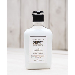 n° 501 - Moisturizing & clarifying beard shampoo 250 ml