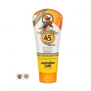 Crema solare SPF45 viso bronzer Australian Gold 88 ml