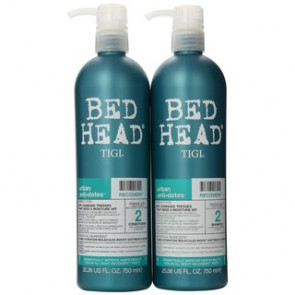 Tigi Bed Head Kit maxi urban antidotes recovery shampoo + balsamo 750 ml