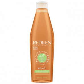 Redken all solft nature+science vegan shampoo 300 ml
