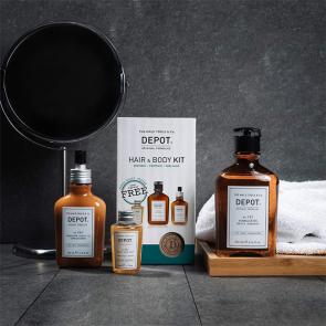Hair & Body KIT (shampoo 101 da 250 ml + treatment 202 da 100 ml + body wash 601 da 50 ml)