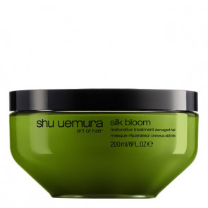 Shu Uemura Silk Bloom maschera capelli danneggiati 200 ml