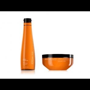 Kit Shu Uemura Urban Moisture shampoo maschera capelli secchi