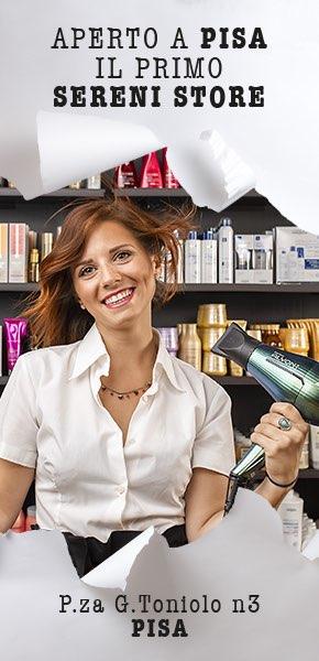 Sereni apre a Pisa il primo Sereni Store!