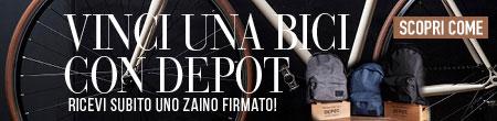 Promo Bicicletta Depot - con 39 euro di prodotti Depot