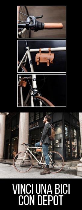 Vinci una bici con Depot e Sereni