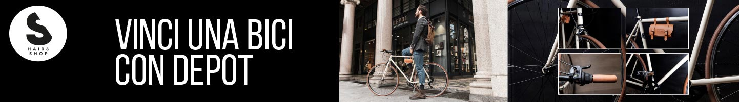 Concorso vinci una bici con 3 Depot